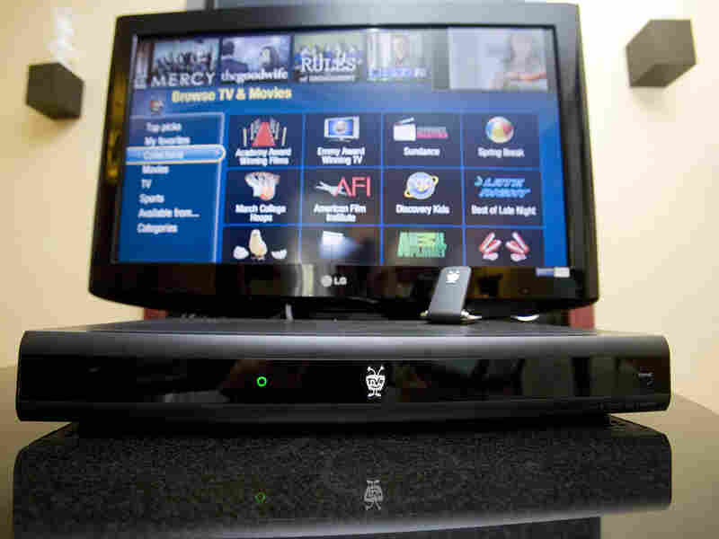 A TiVo Premiere box on display.