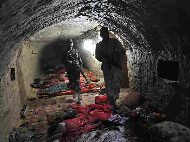 Earlier this month, Pakistani forces cleared out a series of caves in the Bajaur region of Pakistan.