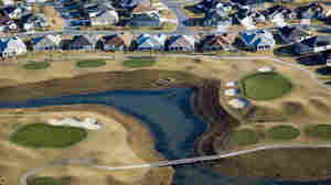 Aerial photograph of the Villages Retirement Community in central Florida.