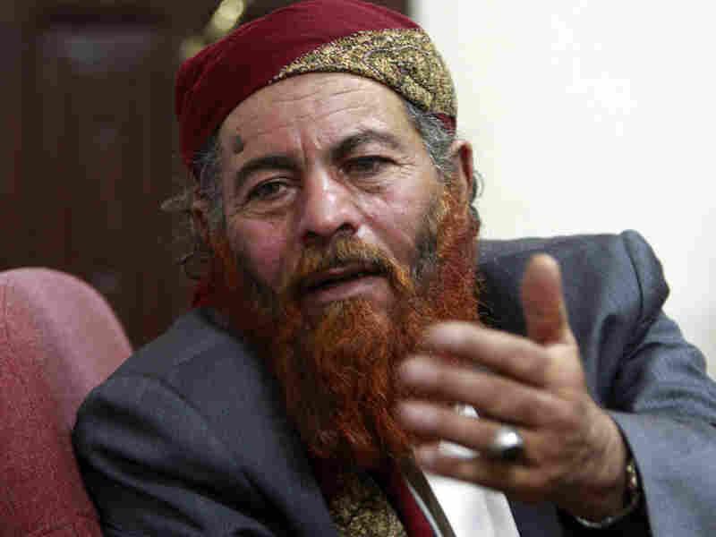 Saleh al-Zuba, former Guantanamo Bay detainee, in Yemen