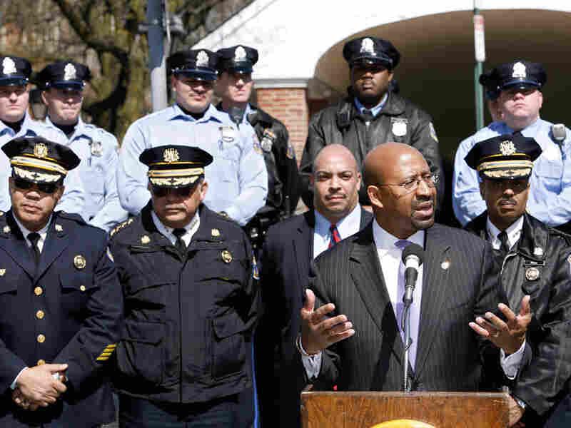 Philadelphia Mayor Michael Nutter reassures residents of their safety.