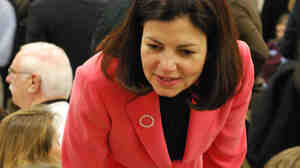 Kelly Ayotte's stump speech centers on a promise to return the GOP to its core principles.