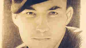 Army Staff Sgt. Nino D. Livaudais as drawn by Michael Reagan