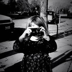 A very young photographer