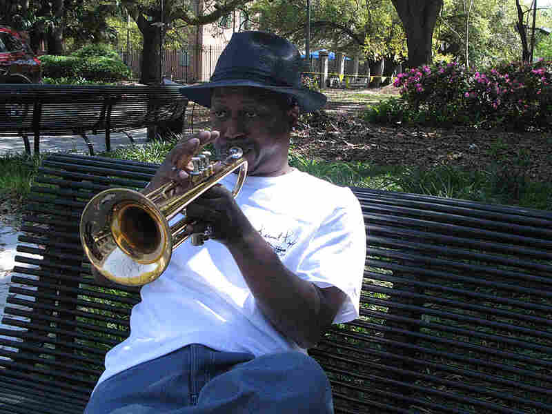 Trumpeter Kermit Ruffins plays himself in the HBO series 'Treme.'