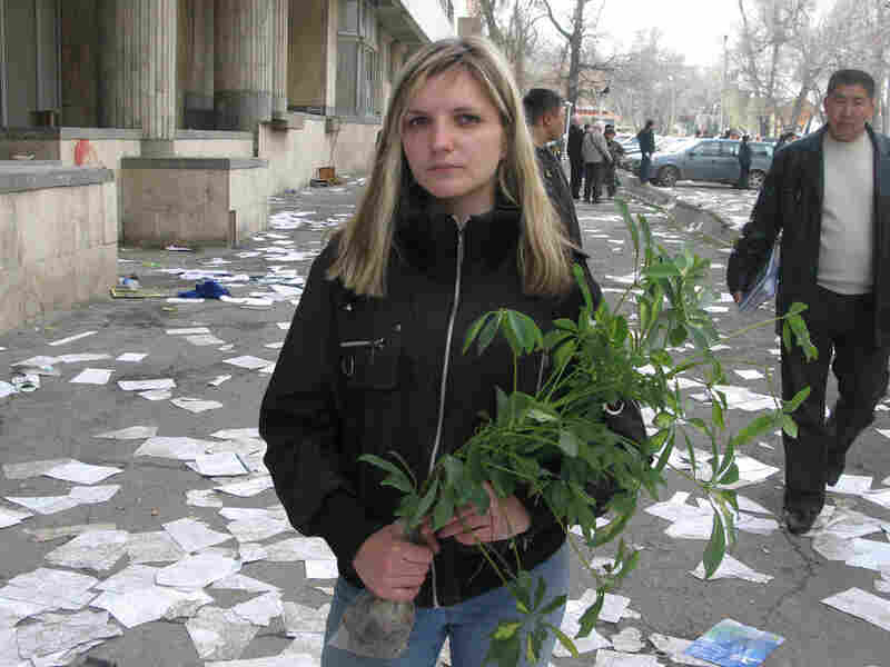 Dasha Vasilenko, 23, is a student in Bishkek, Kyrgyzstan.