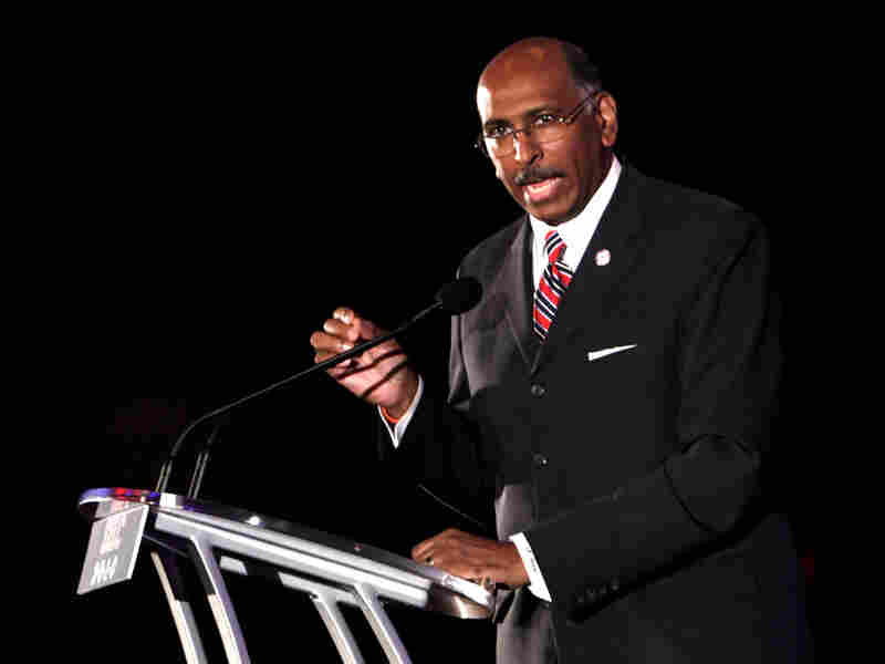 Republican National Committee Chairman Michael Steele. Gerald Herbert/AP