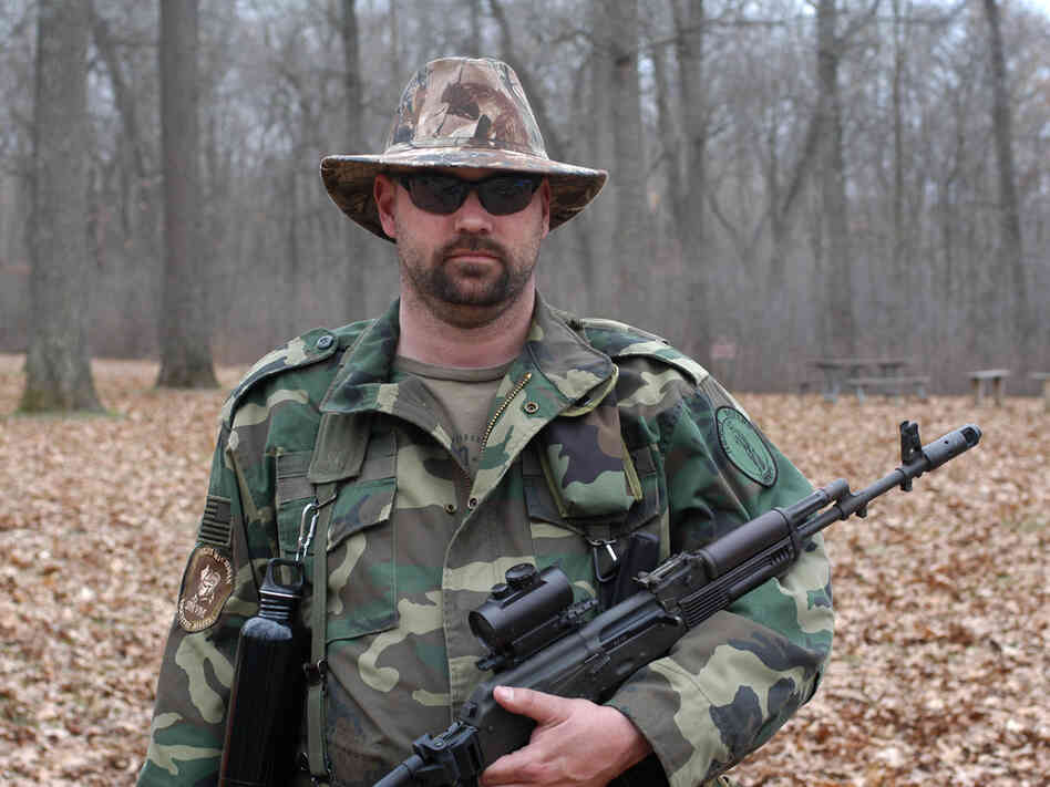 Mike Lackomar, a spokesman for the umbrella Southeast Michigan Volunteer Militia