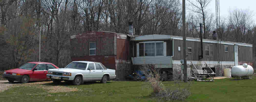 Members of the Christian militia Hutaree lived in these trailers in Clayton, Mich.