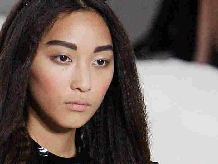 Japanese model Anne, daughter of actor Ken Watanabe.