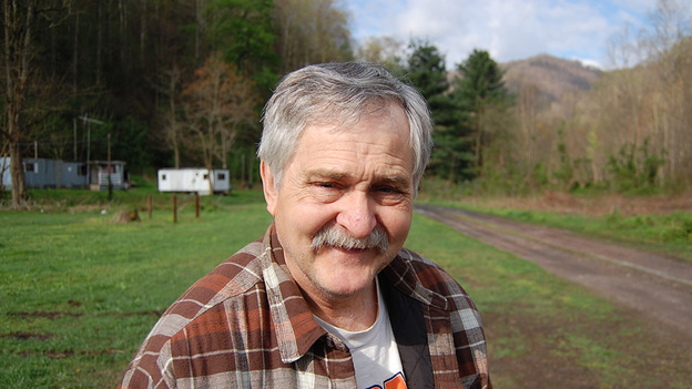 Richard Bradford used to walk and take photos in the mountains near his home in West Virginia. He says he can't do that anymore because his home is nearly surrounded by Massey Energy mountaintop removal projects. (NPR)