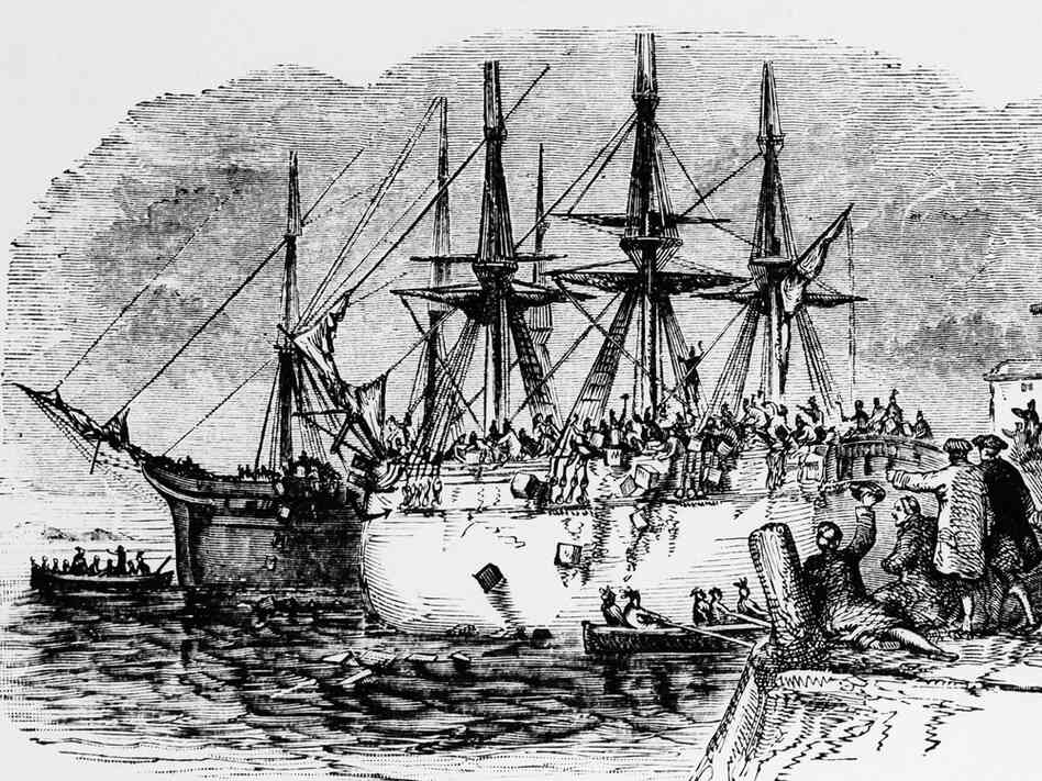 the boston tea party the colonial Myth: the tea act imposed a tax on american colonists (which is why tax  protestors often revere the boston tea party.