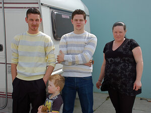 Helen Connors and family