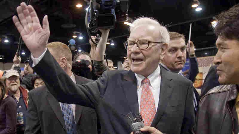 Warren Buffett, CEO of Berkshire Hathaway.