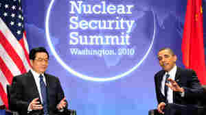 Chinese President Hu and President Obama
