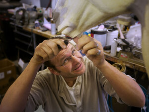Paul Rhymer is the last Smithsonian taxidermist.