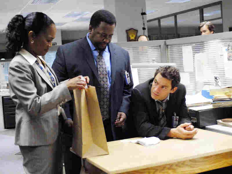 A scene from the HBO series 'The Wire'