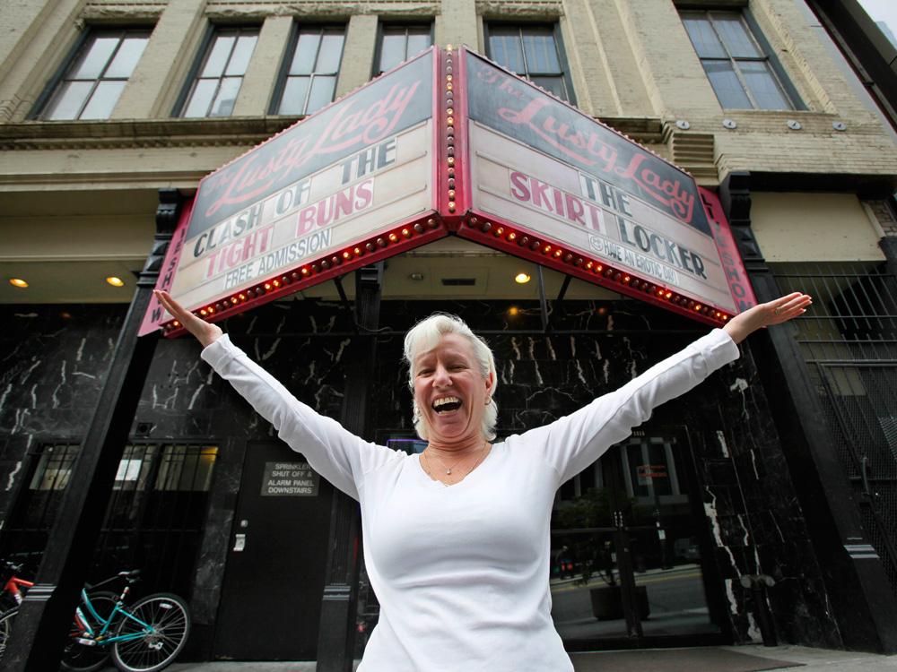 Marquee Lights Dim At Seattle's Lusty Lady Strip Club : NPR