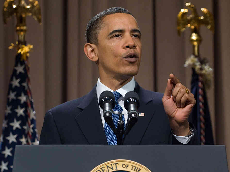President Obama speaks about reforming Wall Street during a speech at The Cooper Union college.