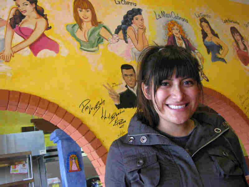 Bricia Lopez, owner of Cemitas y Clayudas Pal Cabron in Huntington Park, Calif.