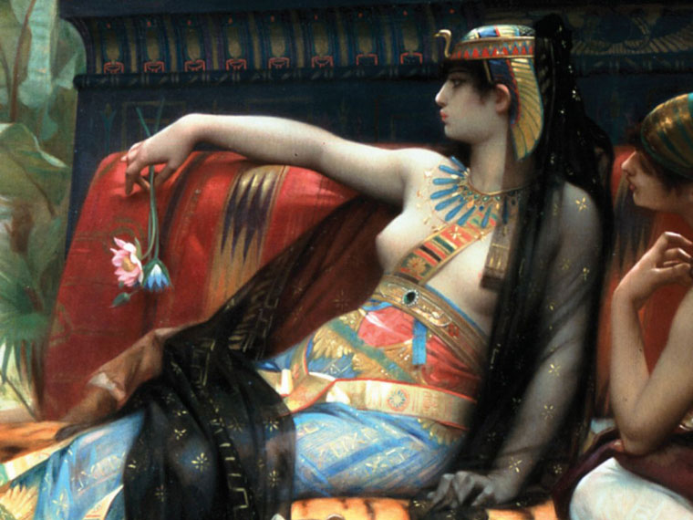 The early life and family of cleopatra of egypt