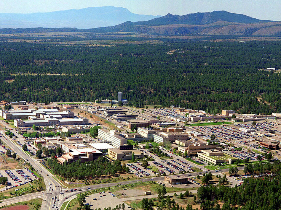 Researchers at Los Alamos National Laboratory in New Mexico (shown here in a file photo from 1995) are using sophisticated computer animation to develop virtual models to help train nuclear inspectors.