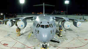 Dover Air Force Base's first Boeing C-17 cargo plane, made in Long Beach, Calif., arrived in 2007.