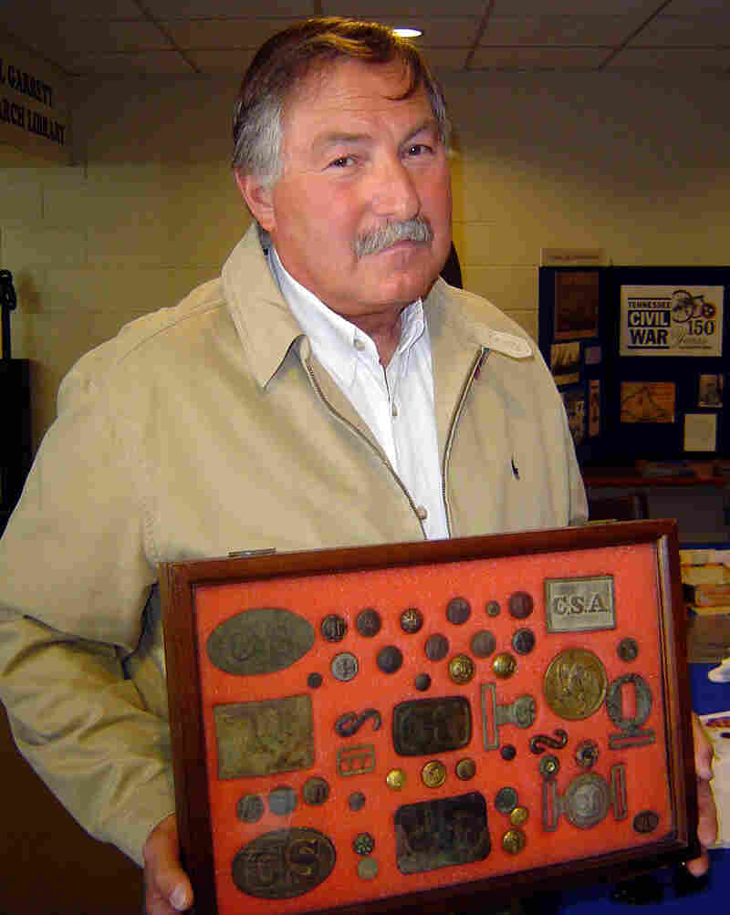 """Bob Turner says his two sons aren't interested in his antiques.  """"They think Dad's crazy,"""" he says."""