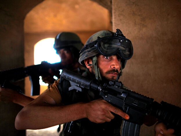 Afghan commandos train under U.S. Special Forces in Afghanistan. The Pentagon is sending 800 more American soldiers to Afghanistan in the coming weeks to work as trainers for the Afghan security forces.