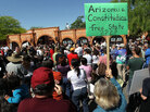 Arizona demonstration against the new immigration law
