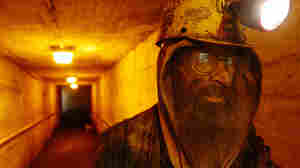 A coal miner in the mines of western Pennsylvania.
