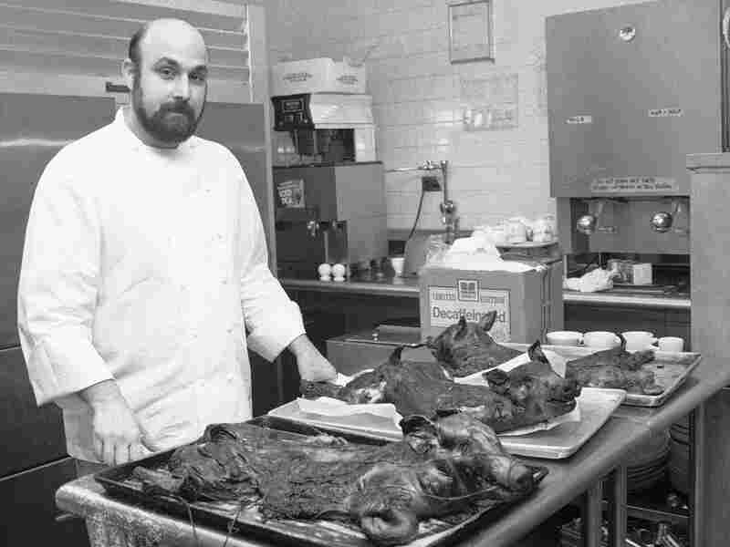 Brooklyn's River Cafe — with chef Larry Forgione at the helm