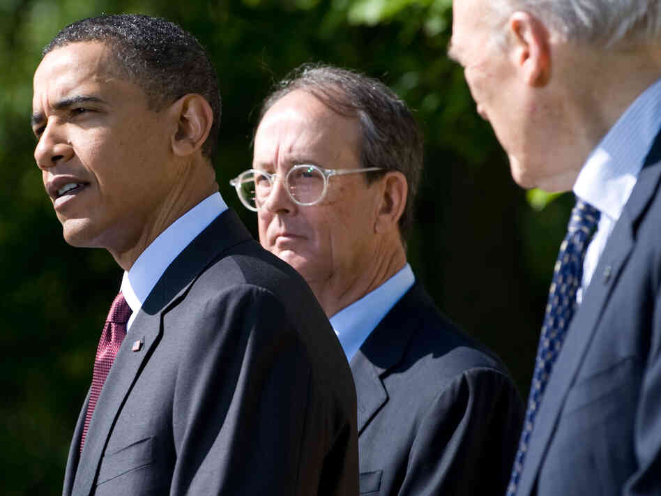 President Obama, Erskine Bowles and Sen. Alan Simpson
