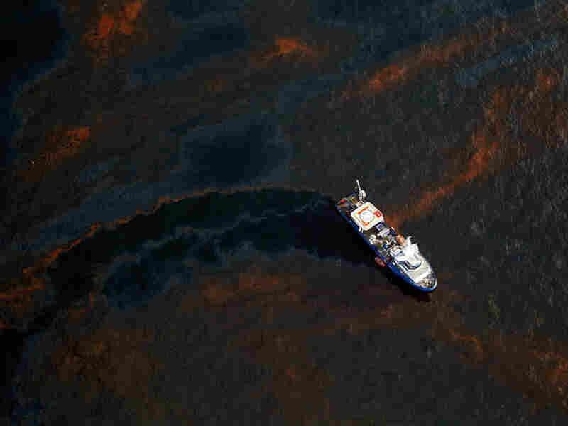 Oil In Gulf Of Mexico