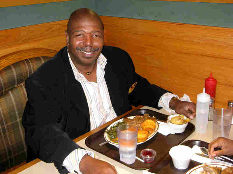 Llou Johnson eats at MacArthur's Restaurant on Chicago's West Side.