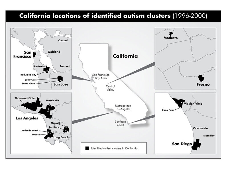 Autism Prevalence Program Expands To >> Autism Clusters Linked To Parents Education Npr