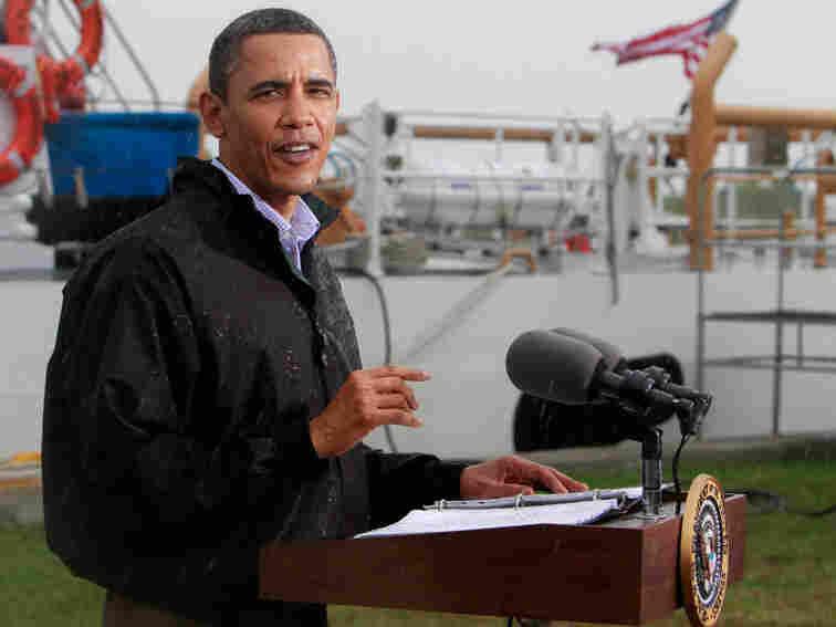 President Obama in Louisiana