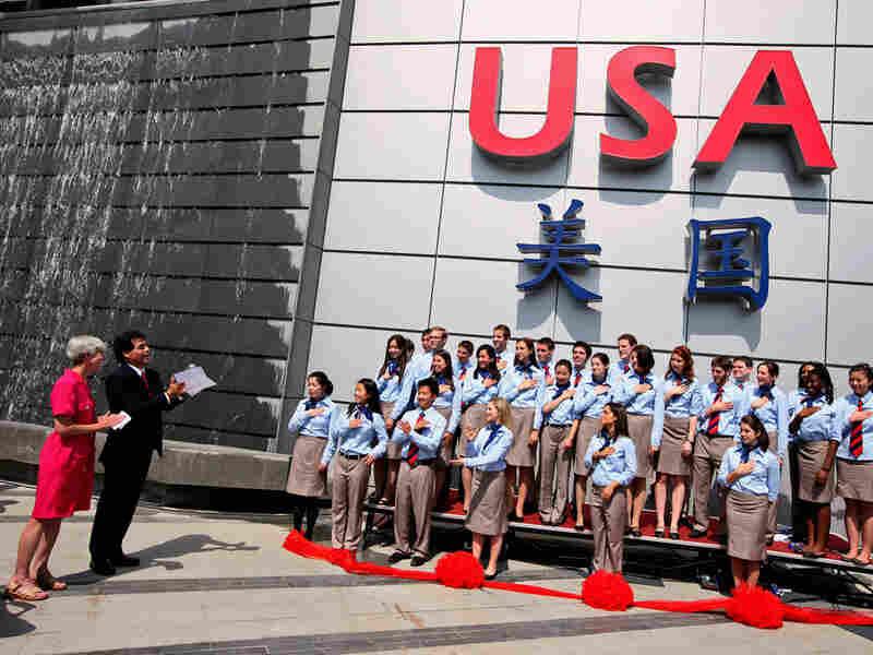 Jose Villarreal, U.S. commissioner-general of the U.S. exhibition