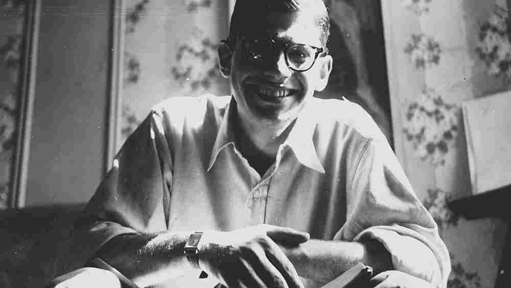 Allen Ginsberg, 1953, wide