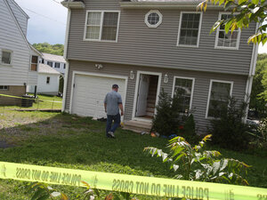 A former home of Faisal Shahzad is seen Tuesday in Shelton, Conn.