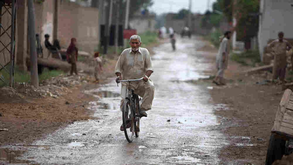 Man in Mohib Banda, ancestral village of Faisal Shahzad