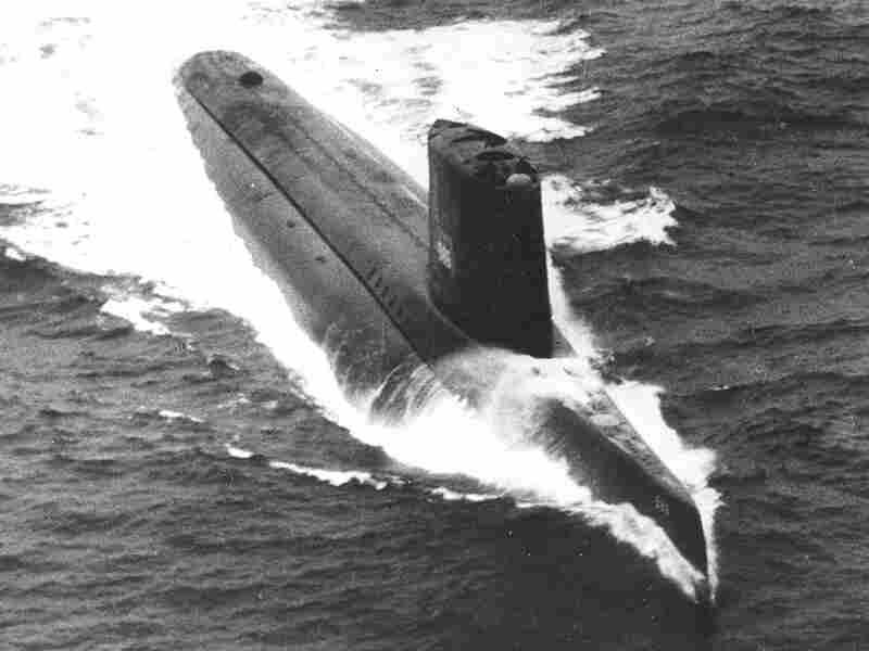 The submarine USS Triton