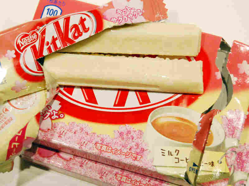 Cafe au lait-flavored Kit Kats
