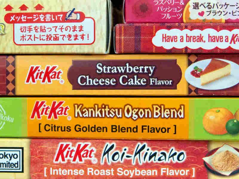 Cheesecake-flavored Kit Kat