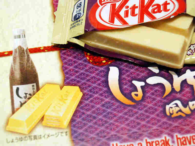 Soy sauce-flavored Kit Kats