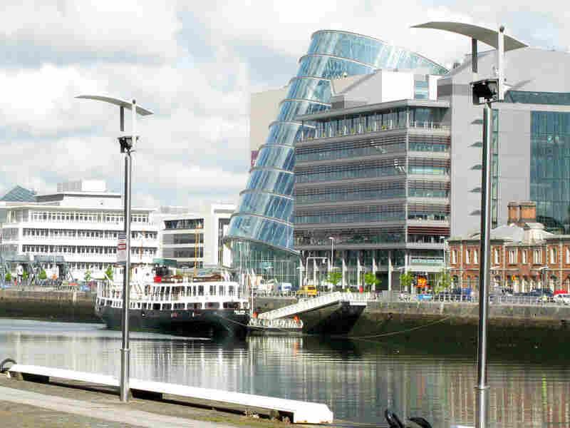 Dublin's new convention center.
