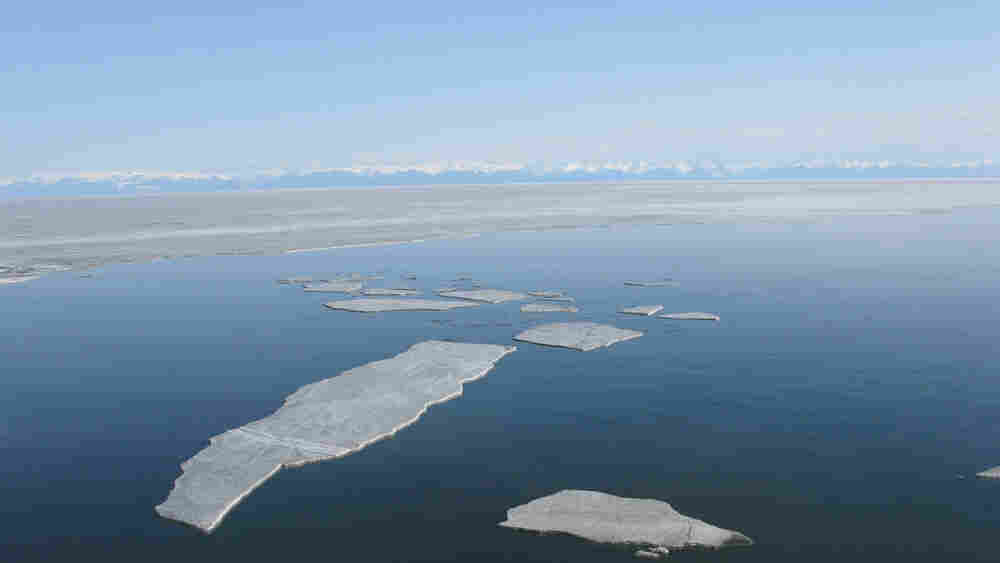 Lake Baikal in southern Siberia