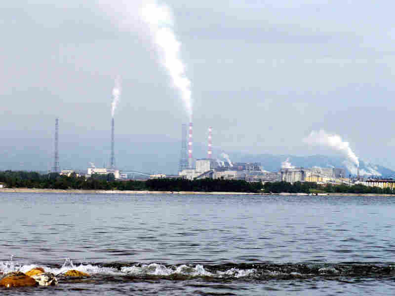 Baikalsk Pulp and Paper Mill in 2003