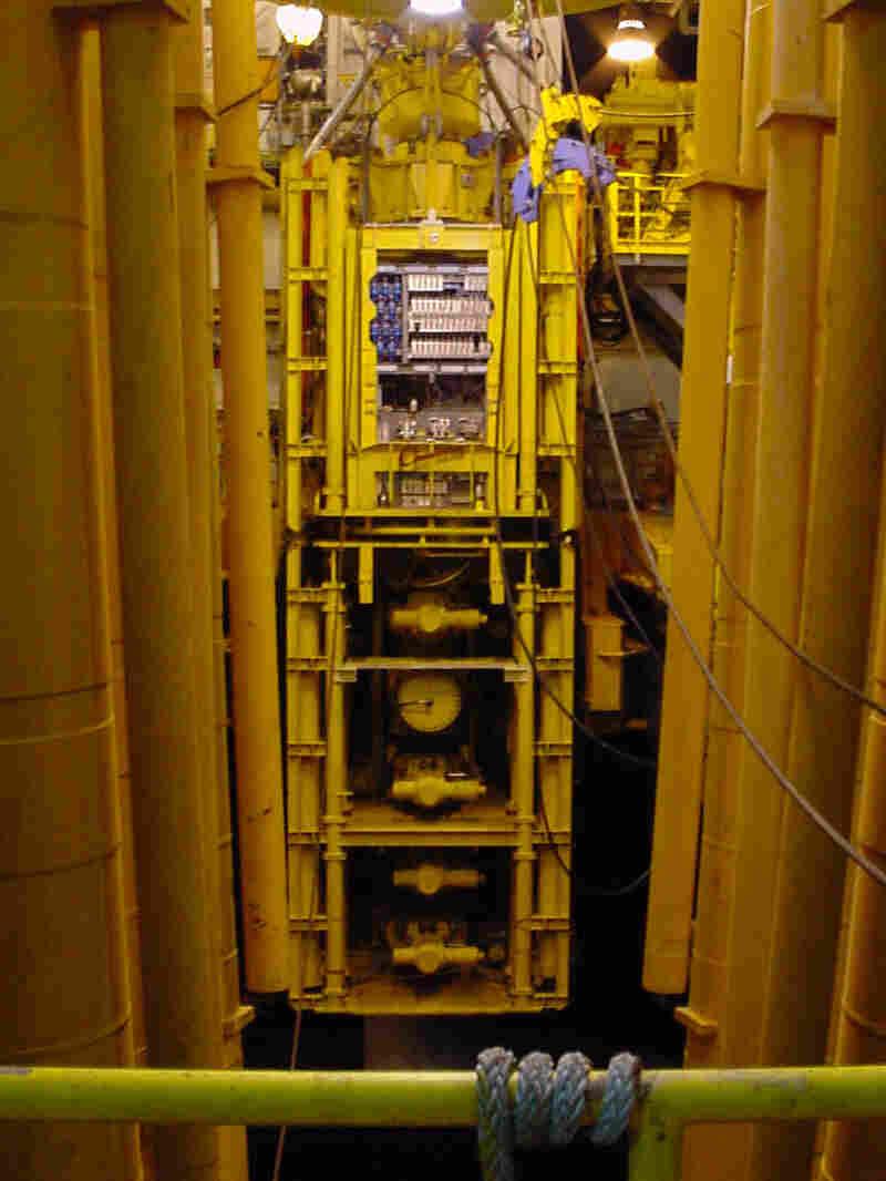 The Deepwater Horizon blowout preventer