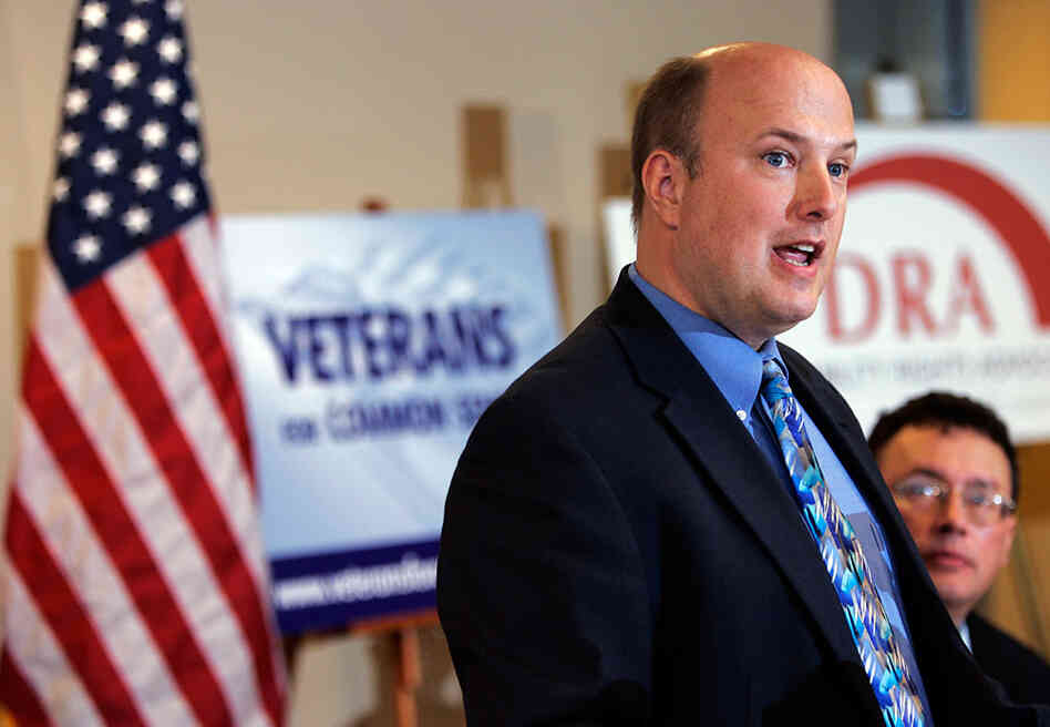 Paul Sullivan, executive director of Veterans for Common Sense, pictured here in 2007,